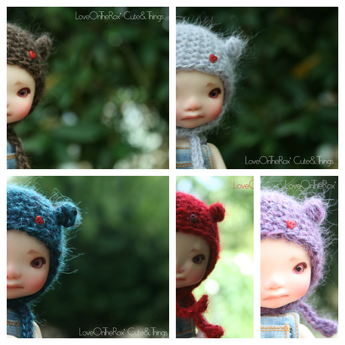 Fluffy Bug Hats