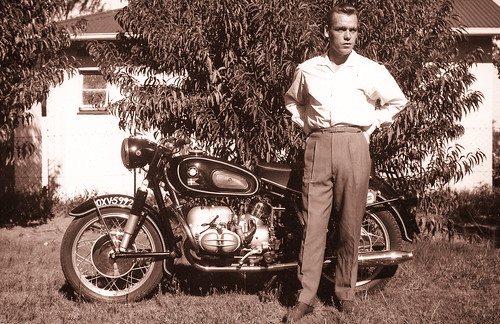 My father - about 1958