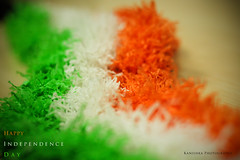 Happy Independence Day [Explored] (Kanishka **) Tags: india canon 50mm day dof bokeh flag indian smooth tricolor independence independenceday indianflag samrat kanishka august15 550d tricolorflag
