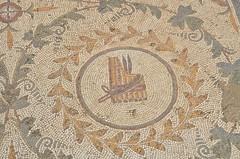 Roman-Byzantine mosaics, Pupput (10) (Prof. Mortel) Tags: roman tunisia byzantine pupput