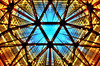Urban Kaleidoscope (hidesax) Tags: windows light sun building glass japan tokyo hall nikon shinjuku raw open space symmetry ceiling nikkor hdr sumitomo 5xp urbankaleidoscope nikkor2470mmf28ged hidesax d800e nikond800e