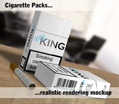 facebook (nkfrds) Tags: photoshop cigarette smoke cancer pack mockup smoker package antismoking realistic addictive vray