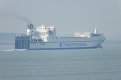 Southend 19.8.12 203 (radiosnail) Tags: ferry thames ship southend transfennica kraftca truckferry freightferry southend19812