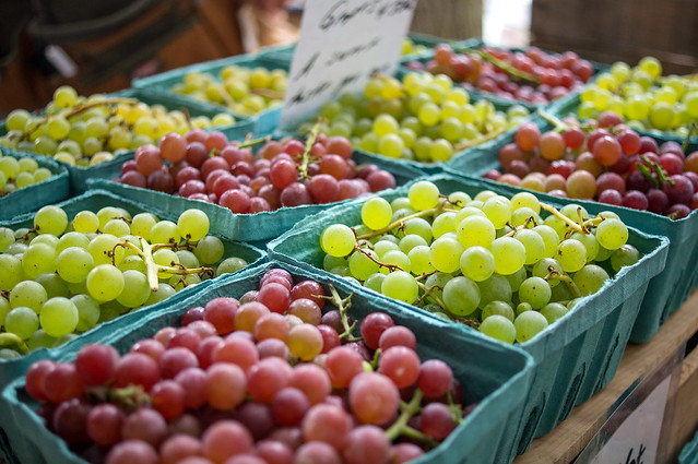Headhouse Market Grapes