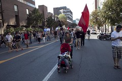 August 22 Demonstration (The Link Newspaper) Tags: students demo protest hike demonstration manifestation tuition august22 22aug manifencours