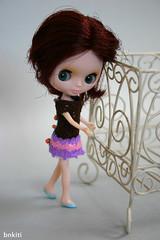 Mini dress for Petite Blythe doll