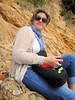 Fleur (russelljsmith) Tags: winter newzealand sun beach fleur sunshine coast sand sundaydrive firthofthames 77285mm waitibay