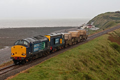 Edge Of Darkness! (Richie B.) Tags: english electric flask nuclear rail class cumbria british 20 37 services direct fna braystones drs 20301 37605 6c22