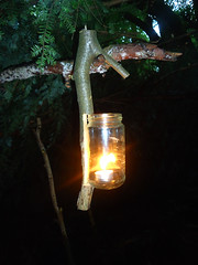 camp lantern. (fishfish_01) Tags: camping camp forest outdoors fire woods campfire survival foraging bushcraft bivvi kellykettle stormkettle ghillikettle