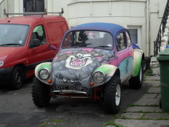 VW Buggy (johnnyg1955) Tags: vw bug volkswagen leeds scarborough buggy paintjob alltypesoftransport cadsin