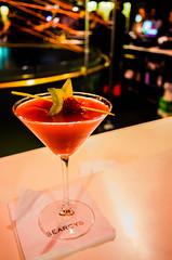 London       Cocktail (JB_1984) Tags: city uk england london bar unitedkingdom bokeh beverage barbican cocktail alcohol raspberry bond vodka martiniglass 007 cityoflondon jamesbond starfruit barbicancentre squaremile searcys