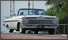 Chevrolet Impala Convertible / 1959 (Ruud Onos) Tags: chevrolet convertible impala v8 classiccars 1959 chevroletimpala classicamericancars kingcruise v8meeting chevroletimpalaconvertible kingcruisemuiden ruudonos classicuscars chevroletimpalaconvertible1959 dh9320 haagscheamerikanenclub