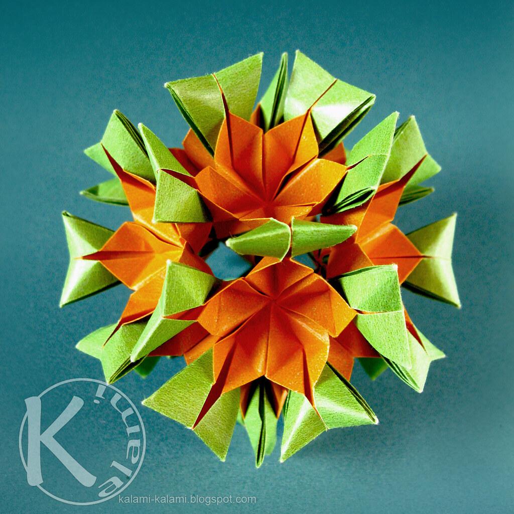 Origami Sonobe | Origami Sonobe Variations Origami And Craft,Math ... | 1024x1024