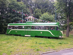 Blackpool exile (BiggestWoo) Tags: park museum manchester rally transport tram greater trans blackpool 2012 heaton lancs greatermanchestermuseumoftransport flickrandroidapp:filter=none translancsrally2012