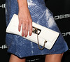 Kate Beckinsale (purse detail) Porsche Design's 40th Anniversary Event held at a private residence Los Angeles, California
