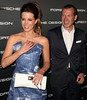 Kate Beckinsale and CEO of Porsche Design Group Juergen Gessle Porsche Design's 40th Anniversary Event held at a private residence Los Angeles, California