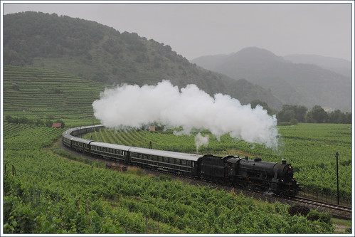 Majestic Imperator Luxury Train in countryside