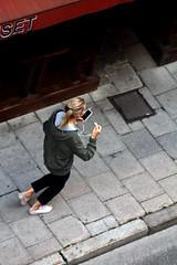 From Above (josephzohn | flickr) Tags: girls people fromabove tjejer uppifrn brahegatan mniskor