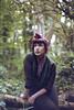 Raquel ((clareta)) Tags: park london film cemetery analog forest woods nikon raquel abney abneyparkcemetery epsonv700