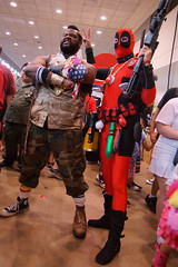 Deadpool & Mr. T Cosplay - Baltimore Comic-Con 2012 (Stephen Little) Tags: costumes comics costume cosplay day1 comicbook heroes cosplayer mrt dayone comiccon con bcc cosplayers costumers costumeplay deadpool tamron1750mm tamronaf1750mmf28 tamron1750mmf28 baltimorecomiccon tamronaf1750mm sonya77 jstephenlittlejr slta77 sonyslta77 sonyslta77v sonyalphaslta77v bcc2012 baltimorecomiccon2012