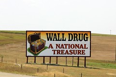 Wall Drug Billboard (the_mel) Tags: wall southdakota highway billboard advertisement drug 90 i90 walldrug