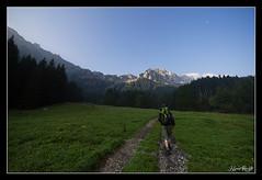 A trip (NeoNature) Tags: morning mountain france nature montagne alpes sunrise trek canon lens landscape soleil friend angle wide lac grand novel mm savoie paysage 1022 lever haute matin randonne darbon