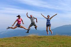 Roc de Toulau 1 - August, 2012 (RodaLarga) Tags: france lumix jump jumping lx5 ambel