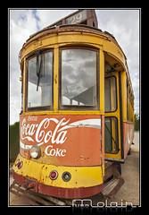 Old tram (Molair1) Tags: canon tram mallorca urbex molair