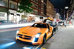Eye-Catcher. (Jan G. Photography) Tags: street summer fab london photography design pentax sls amg jang jayjay sloane carspotting 2011 gullstream k20d exoticsonroadcom