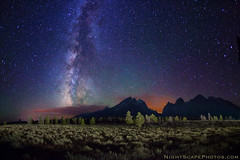 "My unpaid photo assistant: the intervalometer (IronRodArt - Royce Bair (""Star Shooter"")) Tags: nightphotography bravo nightscape grandtetons nightscapes milkyway grandtetonnationalpark wondersofnature roycebair"