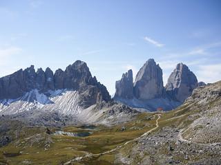 Dreizinnenhütte (2438m)