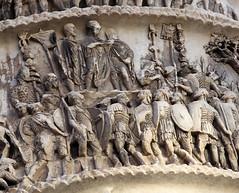 Adlocutio Scene: Column of Marcus Aurelius, Rome
