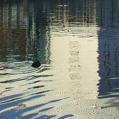 painted surface (henk hessel photography) Tags: reflection river pattern explore