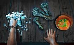 Shaman's Wisdom.The Gates of Eternity. (amaralisgroup) Tags: newyork anime art marina mushrooms tokyo losangeles shanghai geneve outdoor magic cartoon surreal indoor animation wisdom magicmushrooms shaman castaneda carloscastaneda amaralis crowdfunding amaralisart shamanswisdom