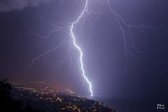 Foudre sur le lac Lman  Grande-Rive (Evian) (MarKus Fotos) Tags: orage orages foudre tonnerre bolt impact eclair clair clairs thunder thunderstorm thunderstrike suisse switzerland lman leman lac landscape vaud france f4 canon