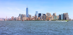 Panorama (_Sylvian) Tags: nyc usa building manhattan bigapple newyork skyscrapers city sky cityscape panorama skyline water architecture