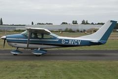 14/08/16 - Cessna 182J - G-AVCV (gbadger1) Tags: egbw wellesbourne mountford airfield matters august sunday 14 fourteen 2016 cessna 182 j gavcv