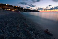 Tropea (Giorgio.G.) Tags: tropea calabria italy italia tramonto sunset sea mare longexposure relax shore nature spiaggia