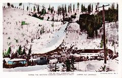 Kimberley, ski hill, HS Fowler, 1938 (bbradleyaway) Tags: bc britishcolumbia snow winter eastkootenays kootenays kimberley skijumping