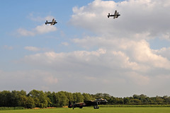 3 Lancaster Bombers at East Kirkby 2014 (Vortex Photography - Duncan Monk) Tags: avro lancaster bomber pa474 fm213 nx611 thumper just jane vera east kirkby lincolnshire country props 4 engine world war 2 wwii ww2 rafbbmf raf royal air force battle of britain memorial flight canadian warplane heritage museum cwhm the aviation centre lahc