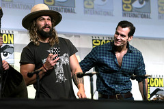 Jason Momoa & Henry Cavill (Gage Skidmore) Tags: zack snyder ben affleck henry cavill gal gadot ray fisher ezra miller jason momoa justice league film san diego comic con international california convention center
