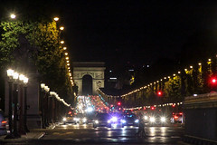 Lights on the Champs lyse (bygeorge) Tags: france paris night nighttime placedelaconcorde champselysee carlights
