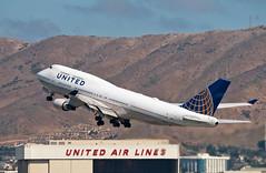 United Airlines | Boeing 747-422 | N174UA (Vitaliy Lobanov) Tags: aereo aeroplane aeroplano aircraft airplane airport avia aviao aviation avion spotting sanfranciscointernationalairport sfo ksfo planespotting plane flugzeug