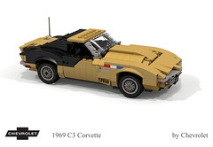 Chevrolet Corvette C3 1969 - 'Astrovette' (lego911) Tags: chevrolet corvette c3 astrovette astro 1969 classic 1960s targa coupe sports sportscar apollo 12 astronaut alan bean moon rocket nasa space program lugnuts challege 106 exclusiveedition eclusive special limited edition usa america v8 vette chevy chev foitsop