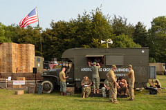 US Army Red Cross Clubmobile (Paul Parkinson LRPS (parkylondon)) Tags: 2016 august detling kent militaryodyssey history livinghistory military reenactment warfare