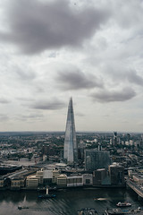 The Shard (SplitShire) Tags: architecture bigcity building business clouds economy europe financial glass grey londoncity londoncollection shard shardskyscraper skyscraper steel topview