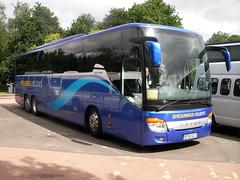 BT63GCY Shearings 638 (preselected) Tags: bus coach luss shearings setra s416gt