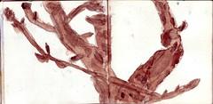 und dann war der Winter da und blieb eine lange Zeit (raumoberbayern) Tags: sketchbook skizzenbuch tram munich mnchen bus strasenbahn herbst winter fall pencil bleistift paper papier robbbilder stadt city landschaft landscape