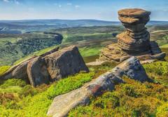 Rocks above Lady Bower Reservoir (martin.baskill) Tags: landscape gritstone ladybower rocks nationalpark peakdistrict derbyshire reservoir saltcellar