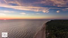 Klaipeda, Lithuania. (GT Media) Tags: dji djiphantom4 planetearth earth naturephotography naturelovers nature sunset horizon balticsea seaview sea dronephotography drone gtmedia